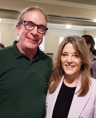 Alan Kosinski and Marianne Williamson